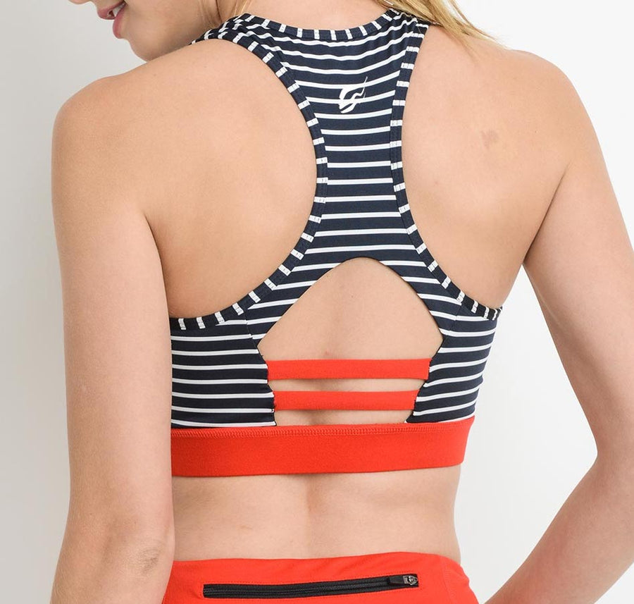 Orange Bliss Racer Back Top