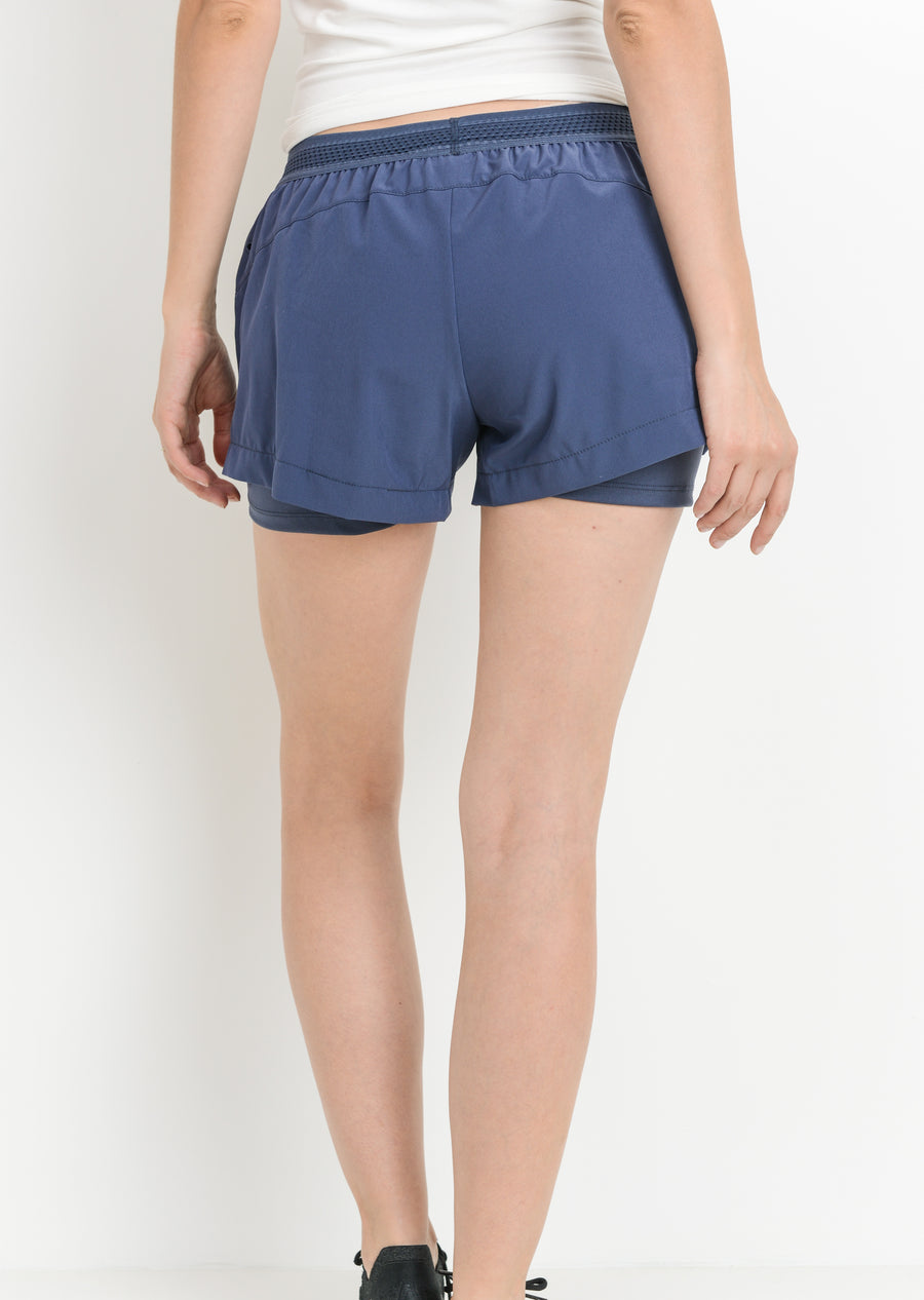 Twice as Nice Racer Short