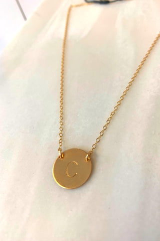 MISUZI INITIAL NECKLACE PERTH
