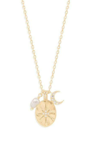 BY CHARLOTTE DREAM WEAVER NECKLACE GOLD