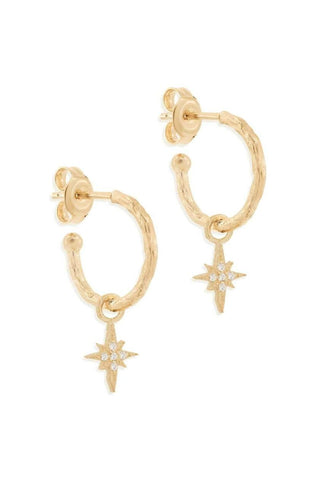 BY CHARLOTTE STARLIGHT HOOPS GOLD