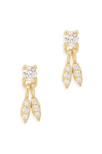 BY CHARLOTTE WISH EARRINGS GOLD