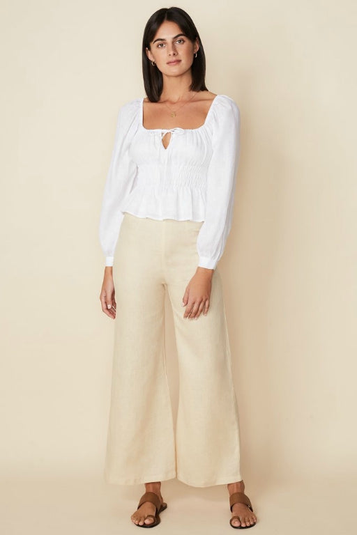 FAITHFULL BELLANO TOP WHITE