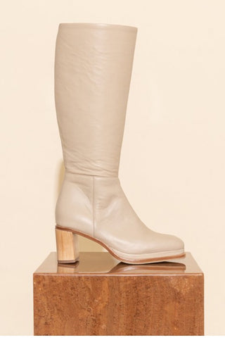JAMES SMITH BASIGLIO BOOT NUDE LEATHER
