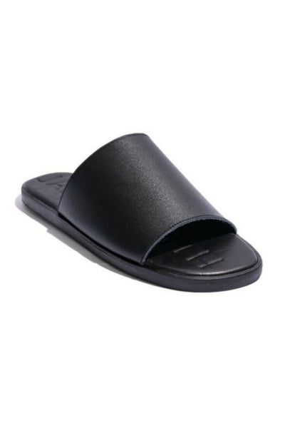JAMES SMITH DA ADOLFO LEATHER SLIDE
