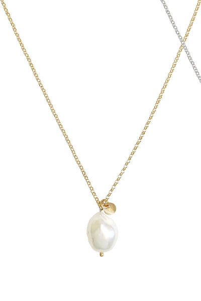 MISUZI Tess Baroque Pearl NECKLACE