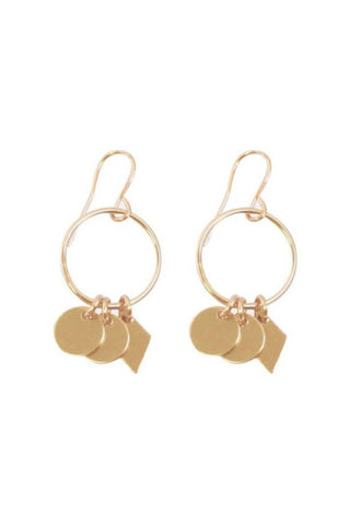 MISUZI CHARM EARRINGS