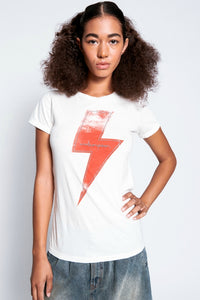 ONETEASPOON WHITE LIGHTENING FITTED TEE