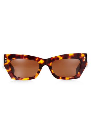PARED BEC AND BRIDGE PETITE AMOUR TORTOISESHELL SUNGLASSES