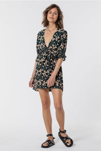 SAINT HELENA - ESPERANCE MINI TIE DRESS - NIGHTLILY