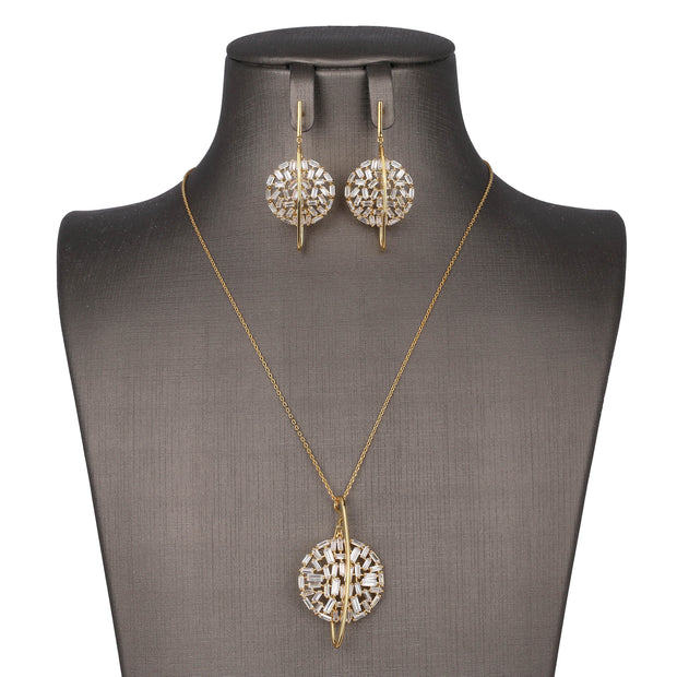 Serene Purity Pendant Set - Design - # 3012