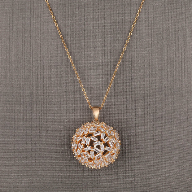 Caramel Sphere Pendant Set - Design - # 3007