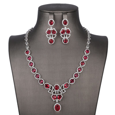 Rubeus Necklace Set - Design # 8015