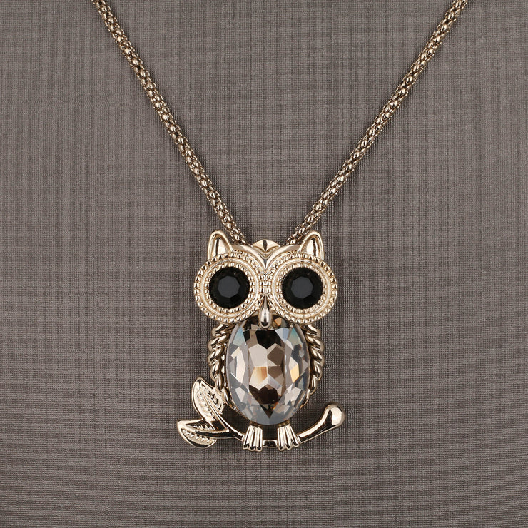Little Owl Pendant Set - Design - # 3003