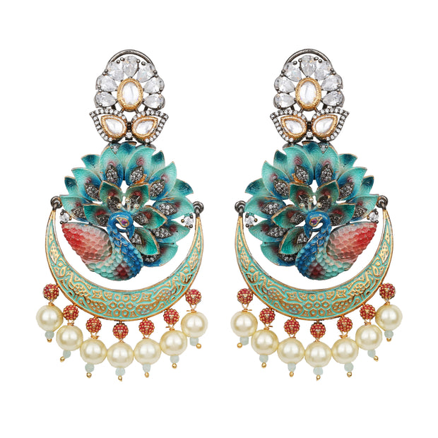 Dancing Hue Earrings - Design # 7034