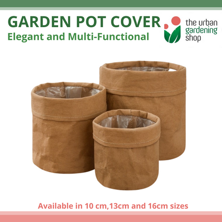 ECO-FRIENDLY KRAFT GARDEN PLANTER  – Multi-functional, Creative and Washable