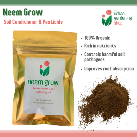 NEEM GROW -   Pure Neem Cake Powder – For Soil Conditioning and Plant Root Protection