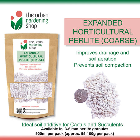 EXPANDED PERLITE   – To Improve Drainage and Aeration