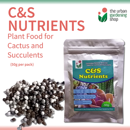 C&S NUTRIENTS – Controlled -release Plant Nutrients for Cactus and Succulents