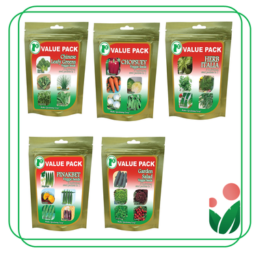 5-in-1 VALUE PACKS  Super Economical Seed Pack by Ramgo