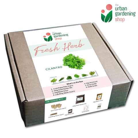 HERB SEED STARTER KITS by The Urban Gardening Shop