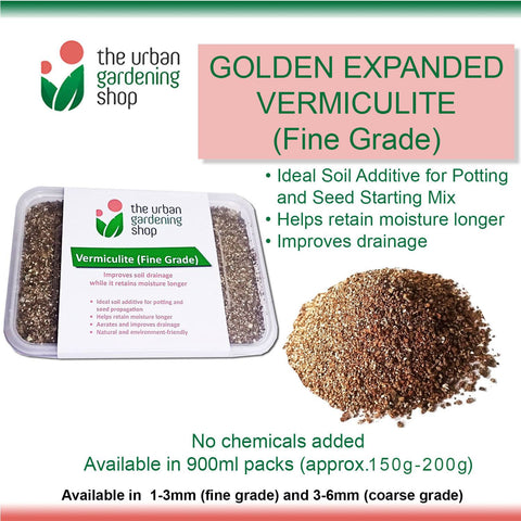 EXPANDED VERMICULITE – Ideal Soil Additive for Potting and Seed Starting