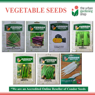 VEGETABLE SEEDS  By Condor Seeds