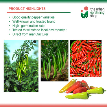 PEPPER SERIES  By Condor Seeds