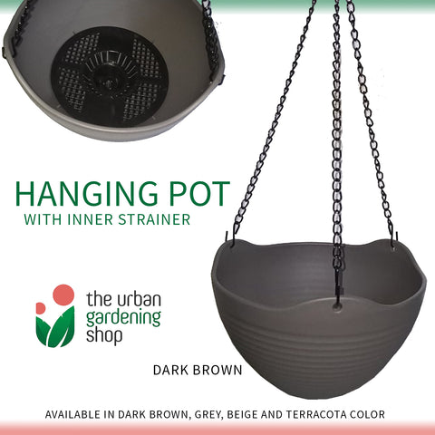 HANGING PLANT POTS  (BUY 3 GET 10% OFF) - Stylish and High Quality for Indoor Use