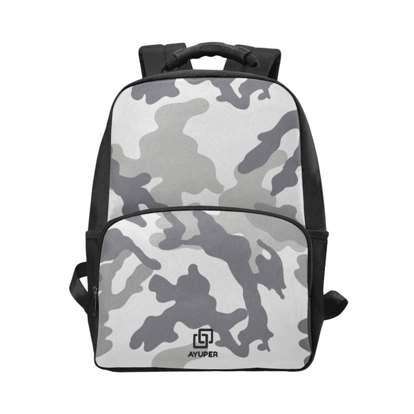 BackPack cinza camuflagem - Ayuper