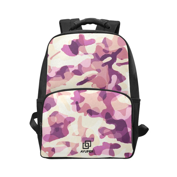 Hot Pink Camouflage BackPack - Ayuper