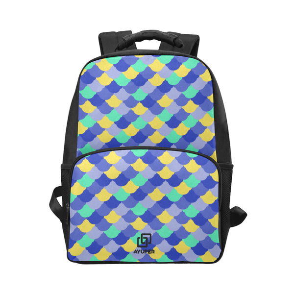 BackPack De Pele De Peixe De Blues - Ayuper
