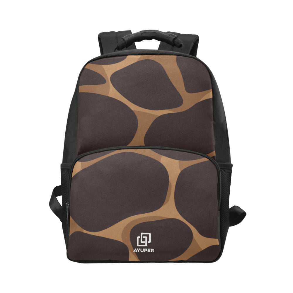 Leopard BackPack Unisex Laptop Backpack (Model 1663) - Ayuper