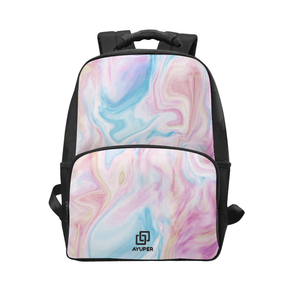 Pinks Marble BackPack - Ayuper