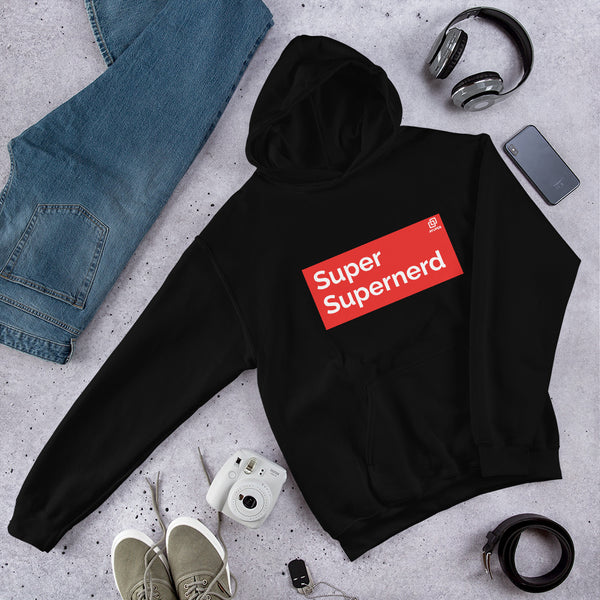 Super Supernerd Hooded Sweatshirt - Ayuper