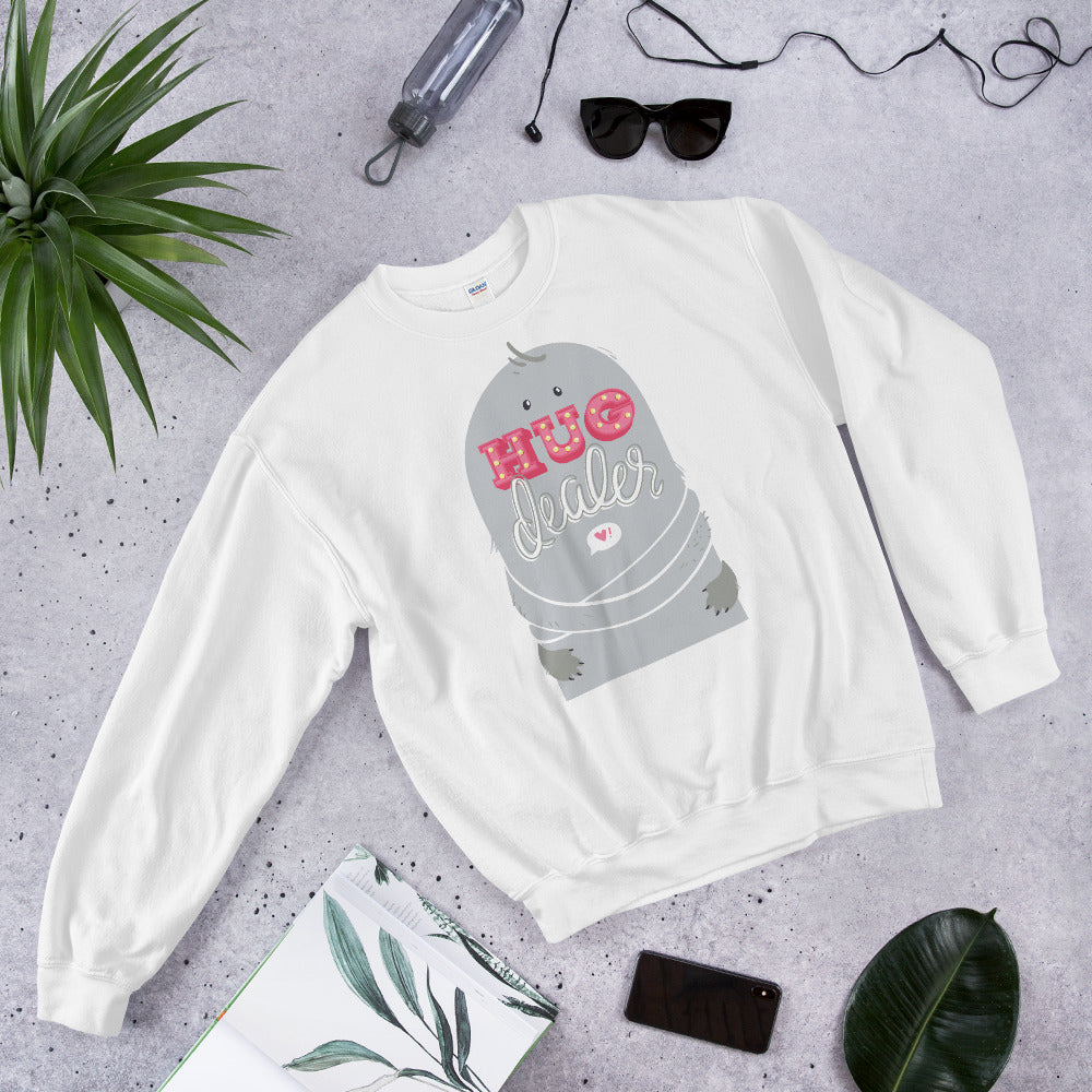 Hug Dealer Sweatshirt - Ayuper