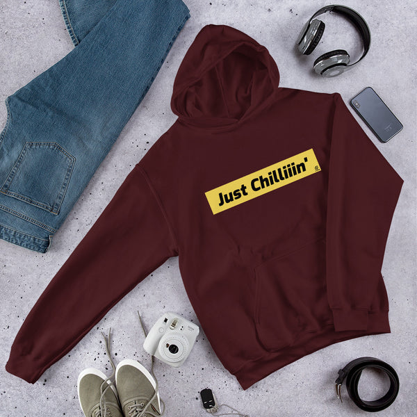 Just Chilliiin Hooded Sweatshirt - Ayuper