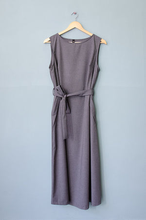 Sleeveless Dress Emily - grey