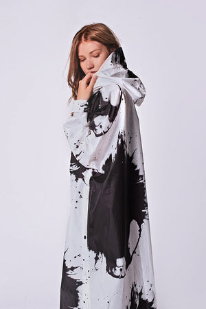 "Raincoat Rainkiss ""Paint Splashes"""