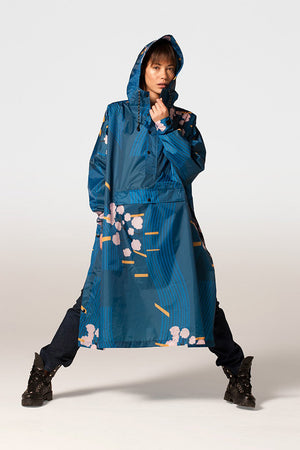 "Raincoat Rainkiss ""Japanese Blossom"""