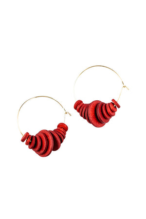 Earrings Scarlett Hoops