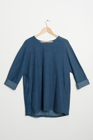 Denim Top Alberte