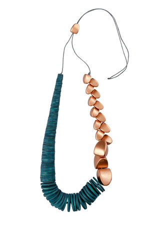Necklace Liron - metallic