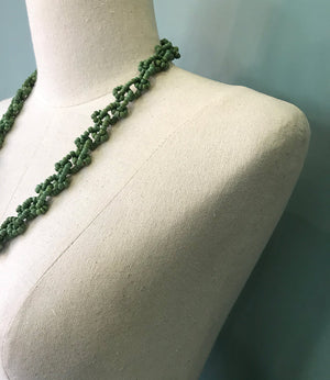 Necklace Autumn - green