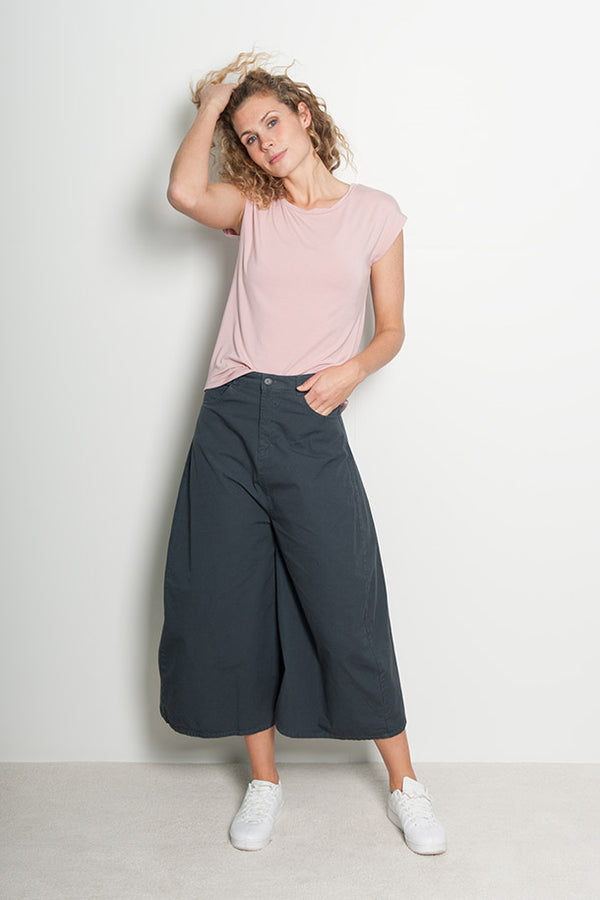 Wide Leg Pant Carrie - grey