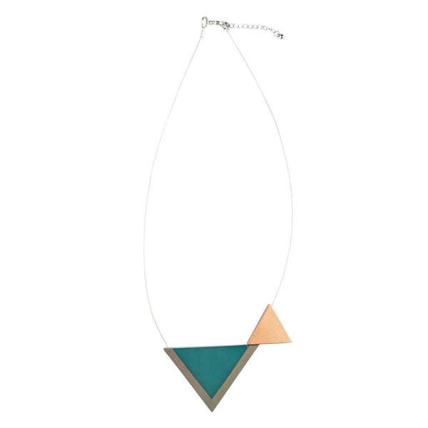 Necklace Jessi - petrol blue