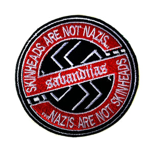 Parche bordado SABANDIJAS skins are not nazis