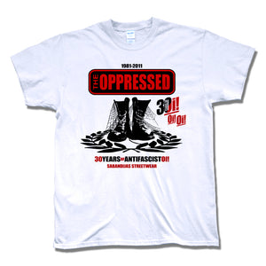 Camiseta manga corta hombre THE OPPRESSED 30 years of