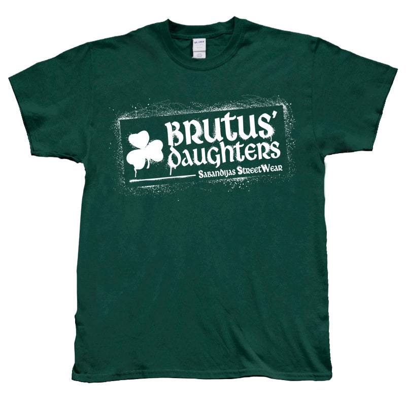 Camiseta manga corta hombre BRUTUS DAUGHTERS logo graffiti