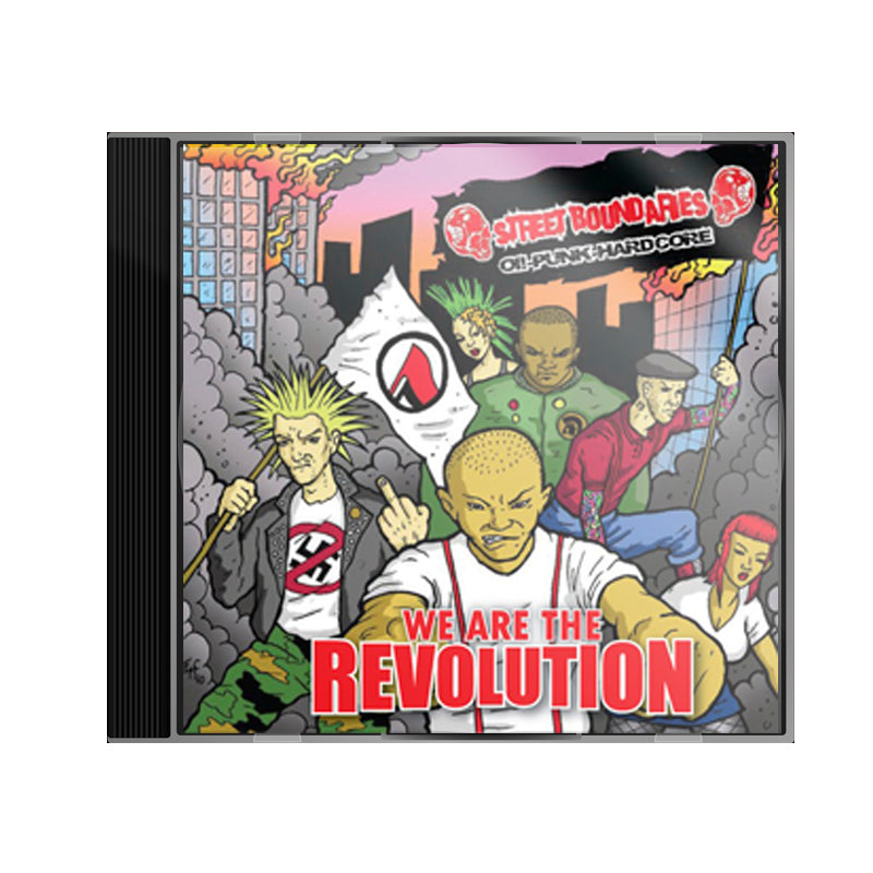 CD STREET BOUNDARIES We are the revolution